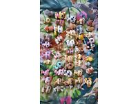 Bundle of 50 littlest pet shop figures / pets. LPS. All old and retired
