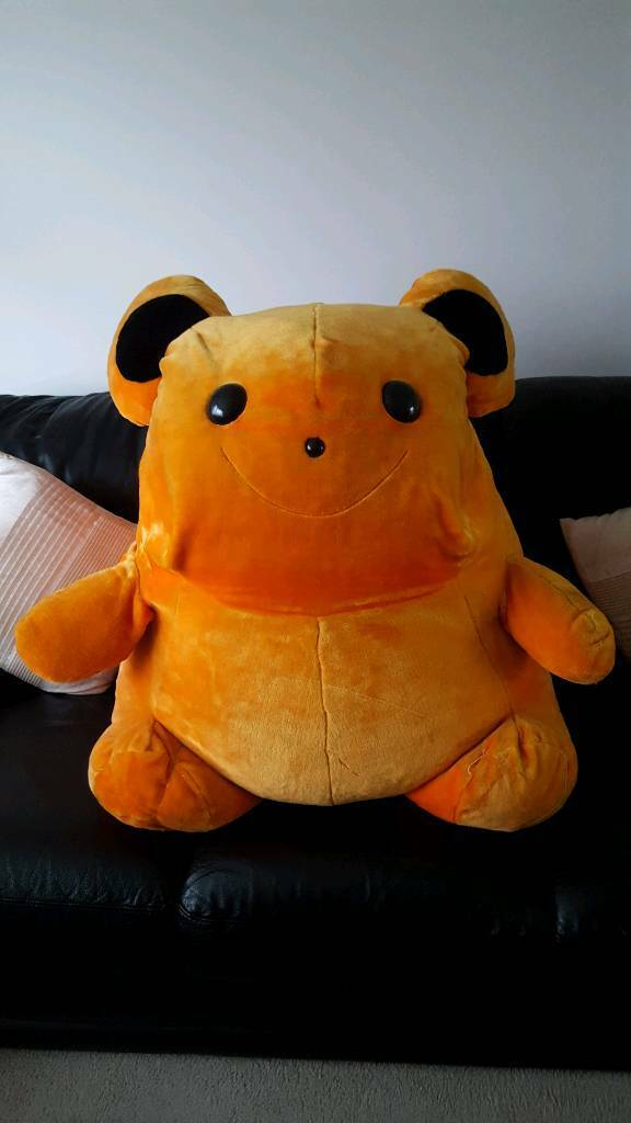 Cute giant size Sunshine cuddly toy.