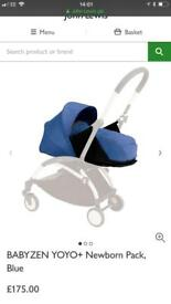 Babyzen yo-yo newborn package in blue