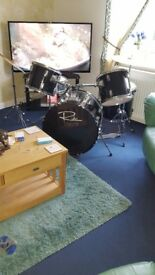 One drum set for sale may swap for something interesting