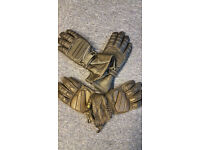 MOTORBIKE GLOVES - BOTH SIZE SMALL - ONE PAIR BRAND NEW OTHER PAIR WORN ONCE OR TWICE