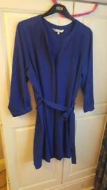 Redherring blue t-shirt dress. Size 18