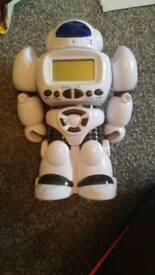 Speaking Robot Clock/Alarm savings bank