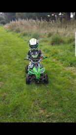 Kids 50cc 2 stroke quad for sale