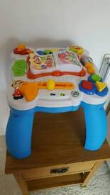 Leapfrog activity table. Clean condition. Works perfect.