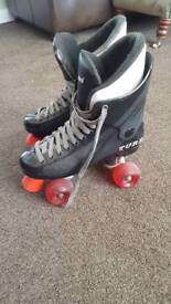 Ladies RM Turbo Pro Roller Skates Boots 6