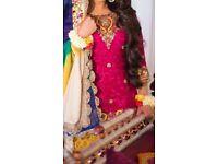 Asian Wedding/Mehndi Dress