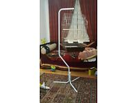 Large bird cage with stand brand new