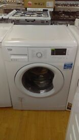 BEKO 8KG WASHING MACHINE new ex display
