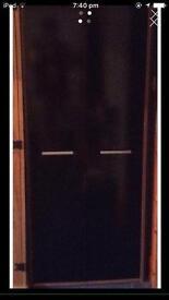 Glossed wardrobe x2