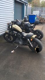 Harley sportster nightster £5500 Ono