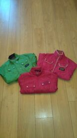 Ladies BARBOUR jackets X3 Green,Pink,Red £40