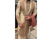 Stunning Mens custom made sherwani
