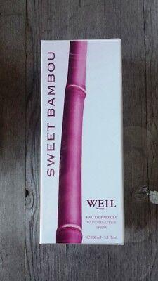 Weil Sweet - Weil Paris 100 ml / 3.3 fl. oz. Sweet Bambou Eau de Parfum – New, Sealed