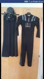 Darth Vader costume age 7-8