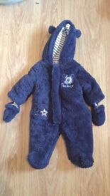 Mickey Mouse snowsuit