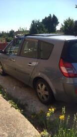 Renault scenic spares and repair