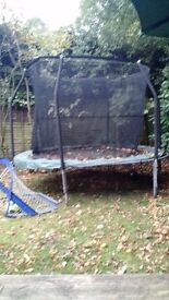 10 Foot Trampoline with new netting