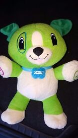 """Leap Frog Learning toy """"My Pal Scout"""" puppy"""