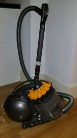 Dyson vacuum cleaner cylindric multi floor
