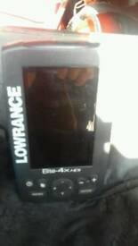 Fish finder and transducer lorrwance not card one thoe