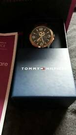 £199 Tommy hilfiger exo watch w/ bag and receipts for only £75