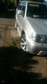 nissan terranto 10months m.o.t 7 seater sport good condition tow bar telephone for more information