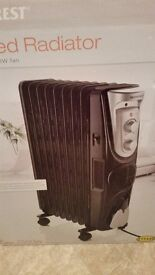 oil filled radiator silvercrest brand new can deliver for a small charge