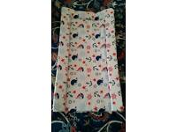 Baby changing mat never used