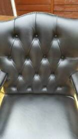 Chesterfield styled office chair