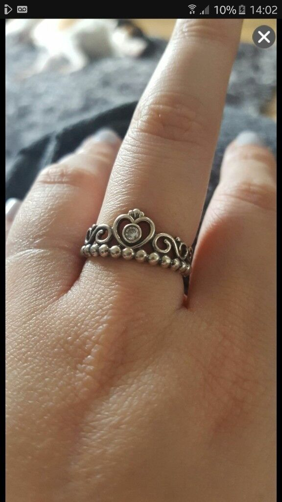 Pandora Tiara Princess Ring