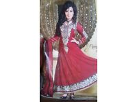 Indian pakistani asian anarkali dress