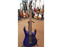 Cort X-6 Electric Guitar - Satin Blue Finish