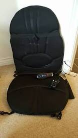 Honemedics back massager can be used on bed or chair