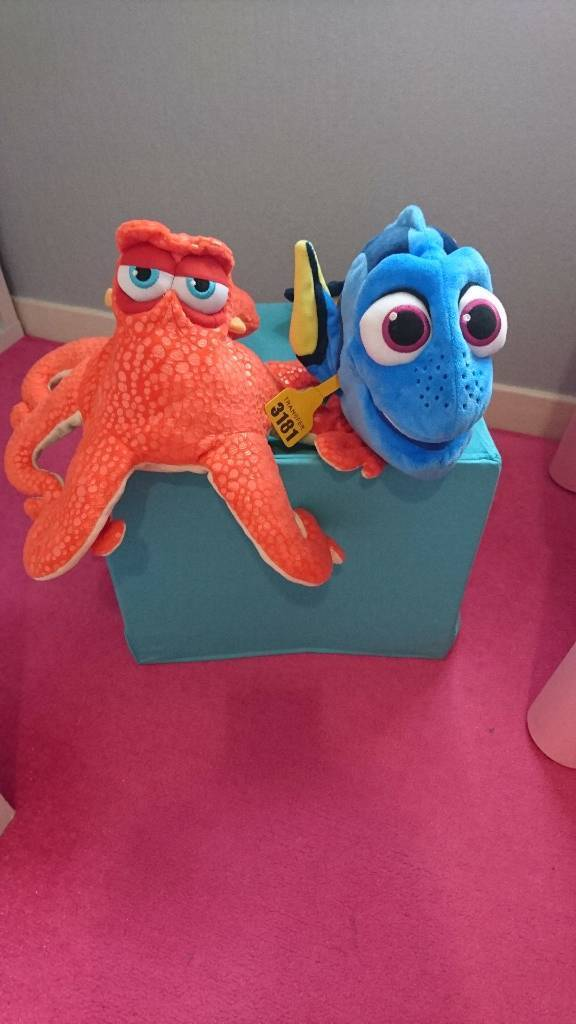 Dory & Hank from Finding Dory 2