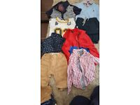 Boys toddler clothes...various sizes. Good condition