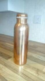 Copper flask brand new