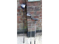 Set of golf clubs with new bag, bargain!