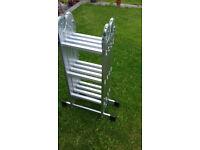 14 rung foldable combination Aluminium ladders