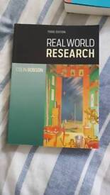 Real World Research Psychology - Third Edition