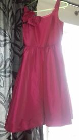 girls 12yrs pink party dress plus shoes