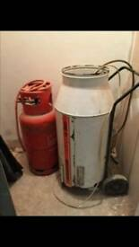 Portable gas heater ( Andrews G260 )