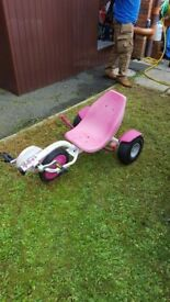 Pink Rocker Scooter
