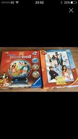 High school musical puzzle ball and jigsaw