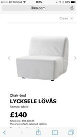 Brand New IKEA Lyksele Sofa bed / chair bed frame
