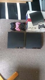Ps3 2 console ,controllers,games