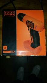 Black and decker power screwdriver