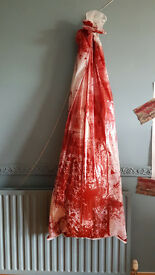 LIFE SIZE 6ft. HALLOWEEN BLOODY BODY BAG - Inflatable Prop includes, BODY, BAG & ROPE NEW IN BAG
