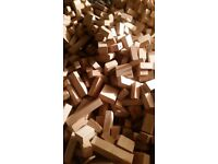 Firewood ,Solid Kiln dried Beech Briquettes For Woodburning Stoves