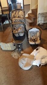 Mothercare tusk pushchair
